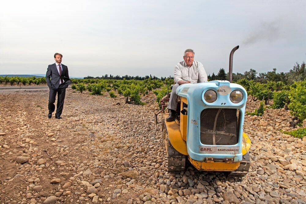 Fabrice Brunel : finis les fichiers Excel, place à la viticulture dans le Rhône