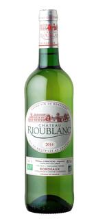 Château Rioublanc Blanc Sec BIO