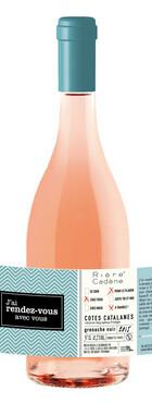 Domaine Rière-Cadène -  J'ai rendez-vous avec vous Rosé