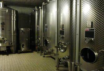 cuves du champagne Caillez Lemaire
