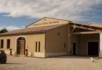 L'entrée du domaine Albin Jacumin