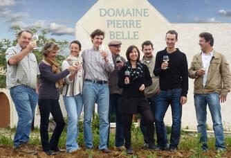 Dégustation au Domaine Pierre Belle