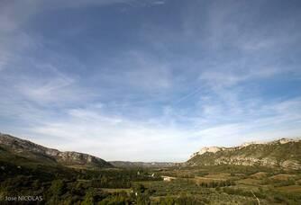 Vue aérienne du Domaine du Vallon des Glauges