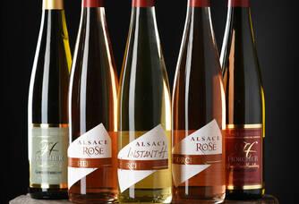 Bouteilles de vins du Domaine Horcher