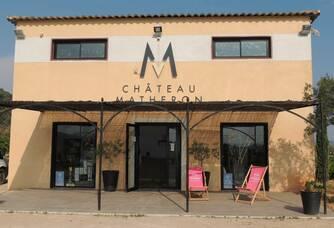 Le caveau du Château Matheron