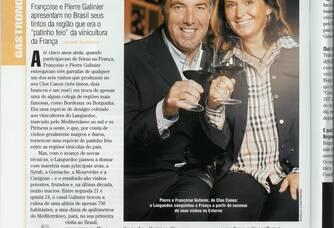 Domaine clos canos présenté dans un journal Brésilien