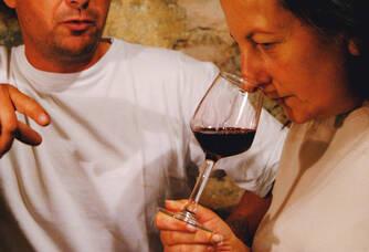 Catherine et Stéphane du Château Lavenceau