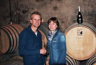 Virginie et Laurent VANPOPERINGH du Champagne Caillez Lemaire