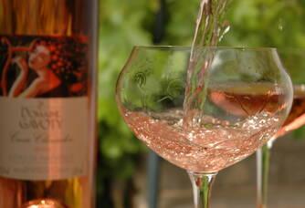 Dégustation du rosé Clarendon du Domaine Gavoty