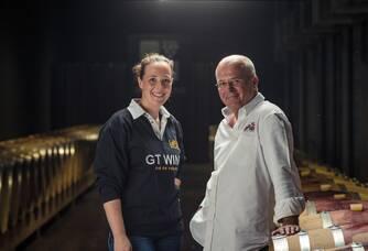 Dirk et sa fille Ann Vermeersch